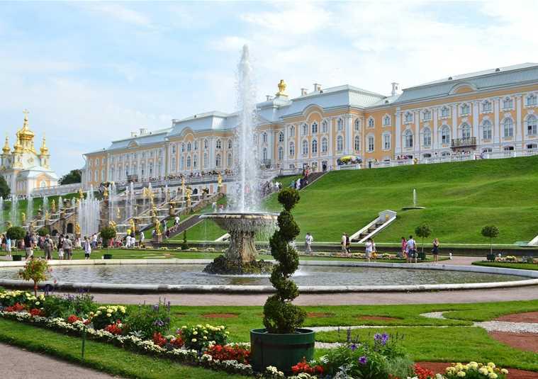 Петергоф(Большой дворец и фонтаны Нижнего парка) доп