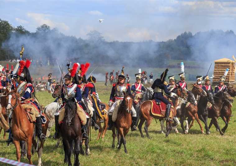 Грандиозное супершоу «Бородинское сражение»