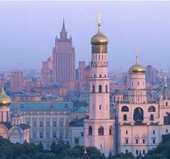 Автобусно-пешеходная обзорная экскурсия по Москве «Москва – столица нашей Родины»   Изображение 1