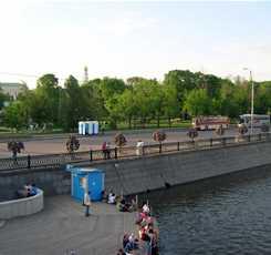 Вокруг Золотого острова (водная экскурсия по реке Москве)  Изображение 0