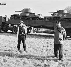 Полномасштабная реконструкция сражения на Бородинском поле «Москва за нами - 1941год» Изображение 6