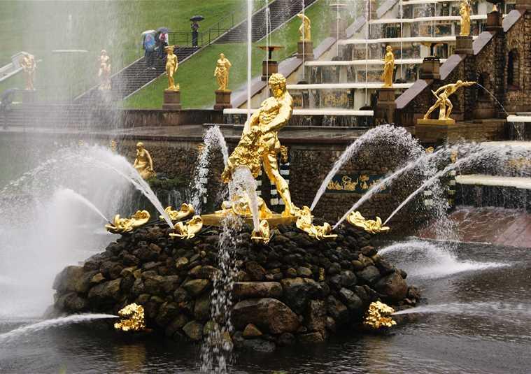 Петергоф: Фонтаны Нижнего парка