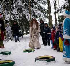 Новогодняя елка. Приключения на Волшебной ферме в Сказочном лесу (с подарками и угощением) (сборная группа) Изображение 7