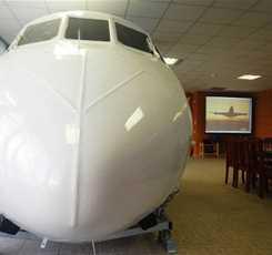 Авиаторы. Экскурсия в авиацентр с полетом в настоящей кабине самолета (пешеходная)  Изображение 1