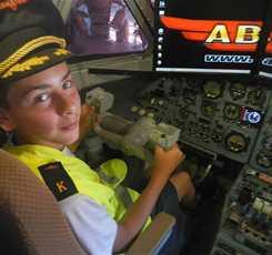 Авиаторы. Экскурсия в авиацентр с полетом в настоящей кабине самолета (пешеходная)  Изображение 3