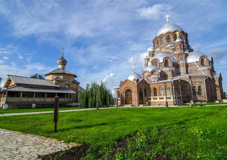 Экскурсия на остров-град Свияжск с посещением музея истории острова