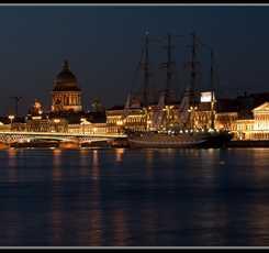 Ночной Петербург Изображение 2