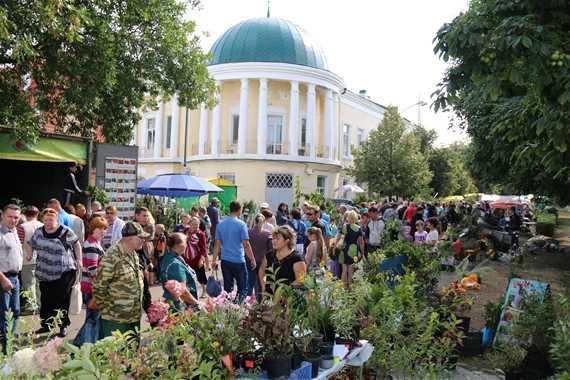 Apple festival in Michurinsk