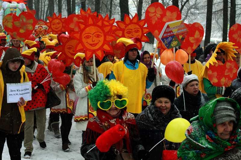 Всероссийский фестиваль 'Главная Масленица страны'