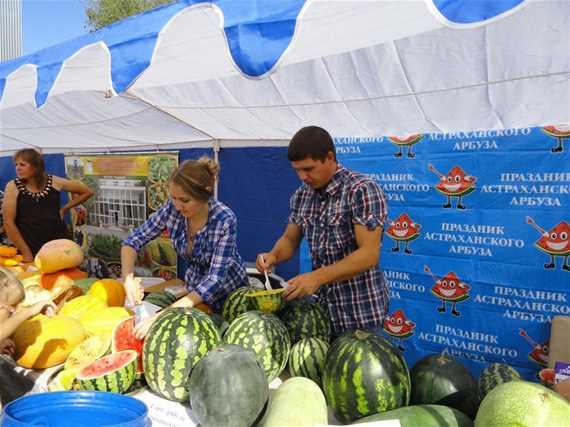 День арбуза в Астрахани