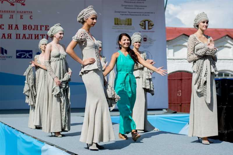 Фестиваль моды «Плес на Волге. Льняная палитра» - 2