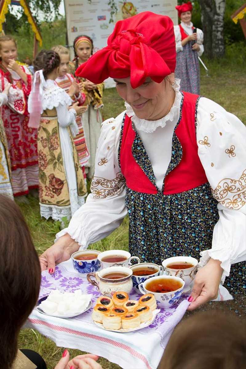 Фестиваль русского чая в Меховицах - 2