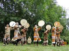 Национальный ительменский праздник «Алхалалай»