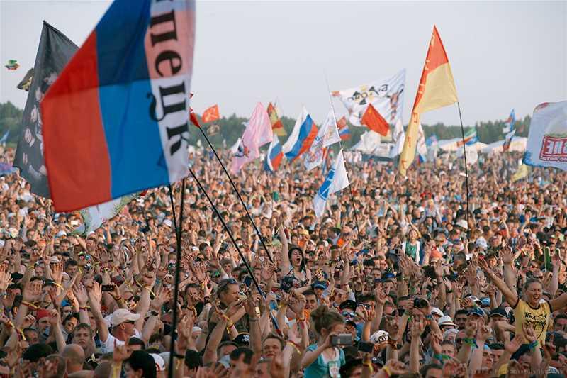 Музыкальный рок-фестиваль «Нашествие» - 1