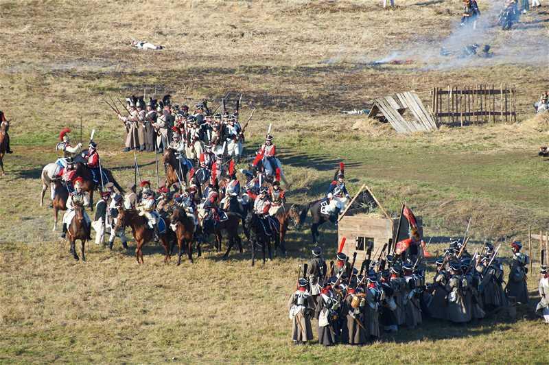 Реконструкция Малоярославецкого сражения 1812 г. с участием военно-исторических клубов - 2