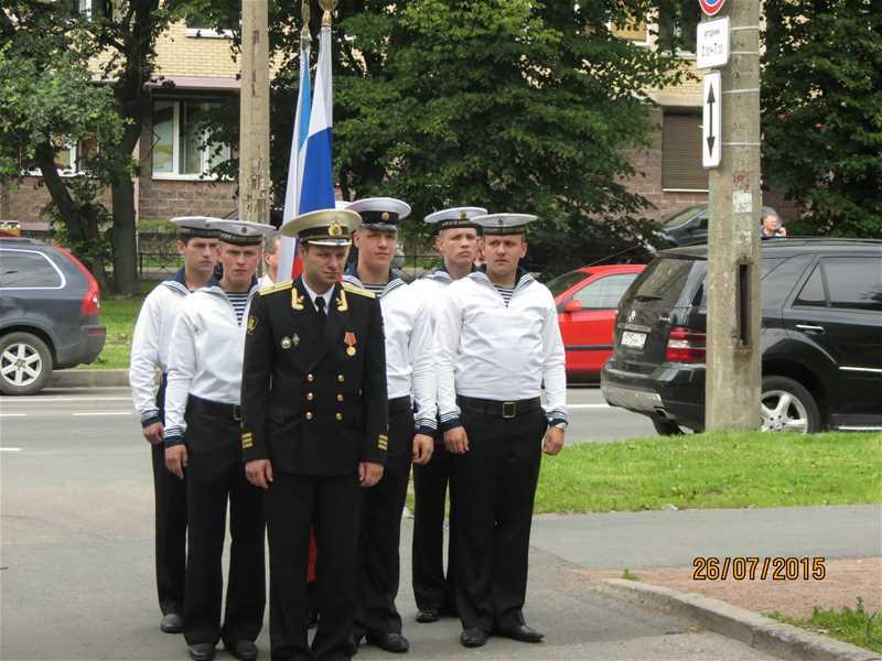Выставка к «Дню военно-морского флота России» - 1