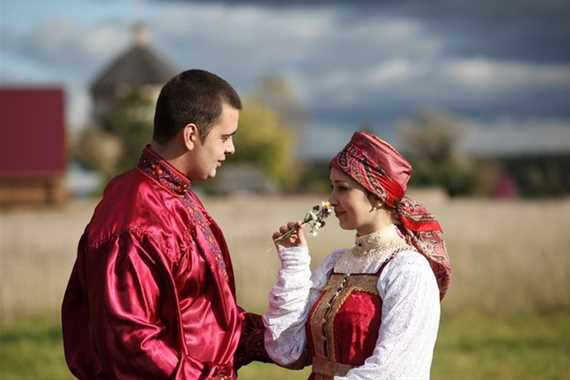 Фольклорный праздник 'Покровские свадьбы 'Что сужено, то связано'
