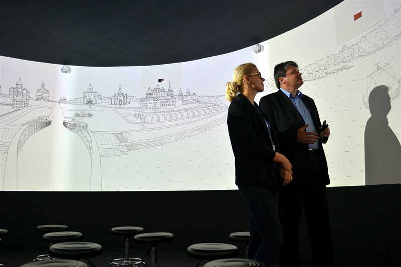 Мультимедийная панорама + Никольский Собор Фильм 1 «Великий Торг и Княжий двор»  - 4