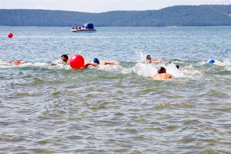 Всероссийские соревнования по плаванию на открытой воде - 1