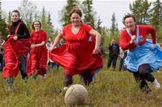 Традиционные национальные Саамские игры
