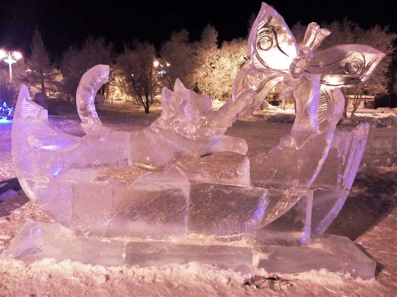 Фестиваль снежно-ледовых скульптур «Снеголёд» - 1