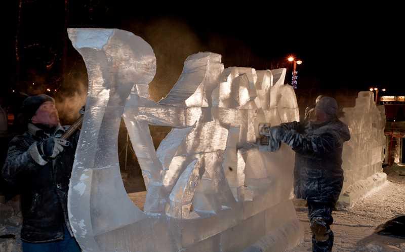 Фестиваль снежно-ледовых скульптур «Снеголёд» - 2