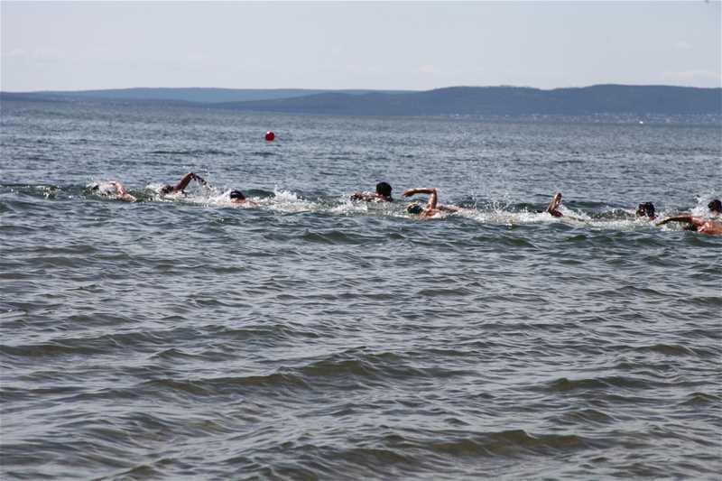 Всероссийские соревнования по плаванию на открытой воде - 3