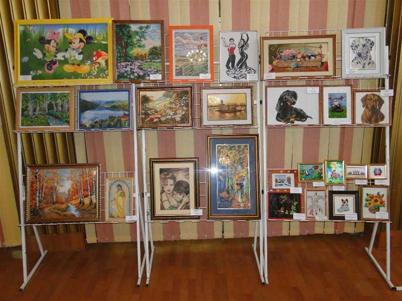 Региональная выставка декоративно-прикладного творчества «Вышитая картина» - 2