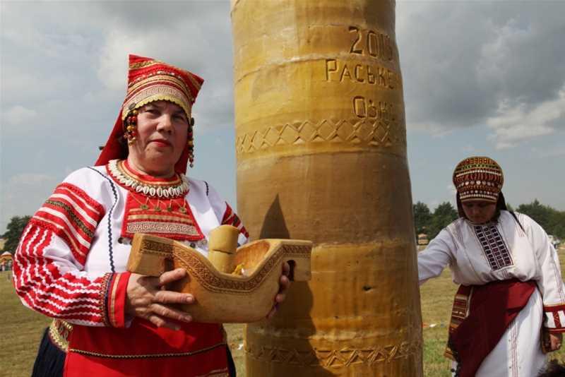 Национально-фольклорный праздник «Раськень Озкс» - 1