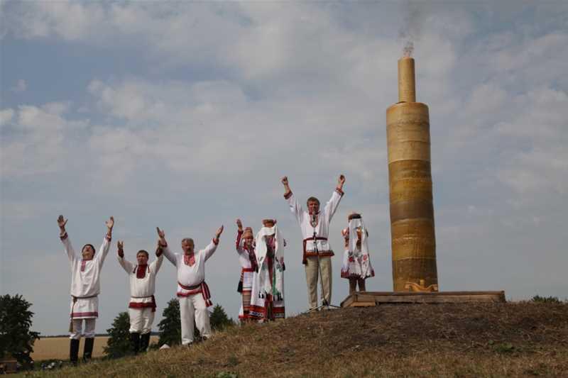 Национально-фольклорный праздник «Раськень Озкс» - 4