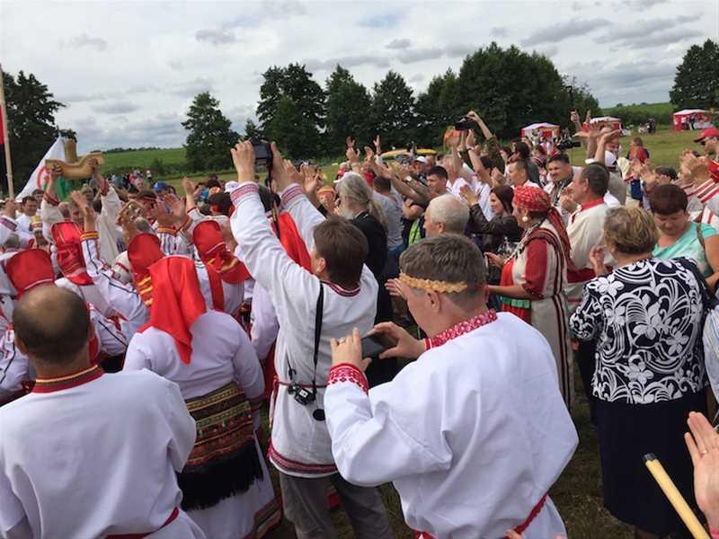 Национально-фольклорный праздник «Раськень Озкс» - 6