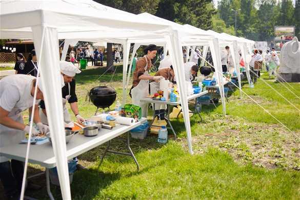 Международный фестиваль барбекю