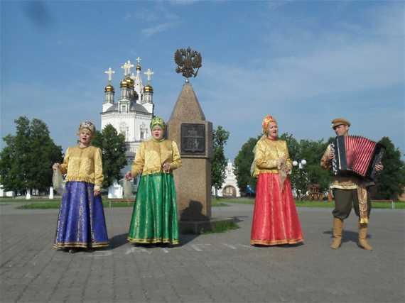 Фестиваль-ярмарка 'Верхотурские Троицкие гуляния'