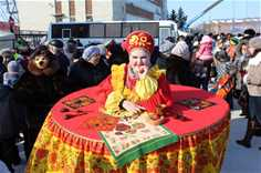Региональный народный праздник «Сибирская масленица»
