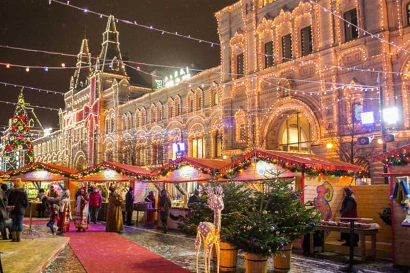 Лучшие новогодние события России