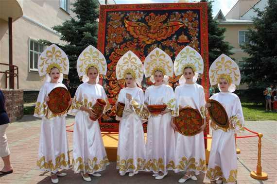 Международный фестиваль народных художественных промыслов «Золотая хохлома»