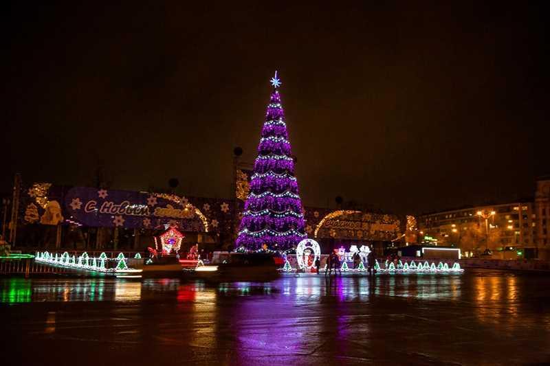 Расписание новогодних елок в Волгограде 2018