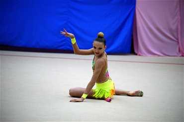 Всероссийские соревнования по художественной гимнастике «Каспийские зори»