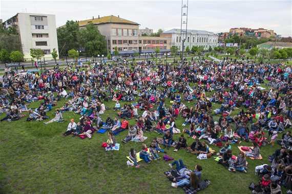 Музыкальный фестиваль «Музыка на траве»