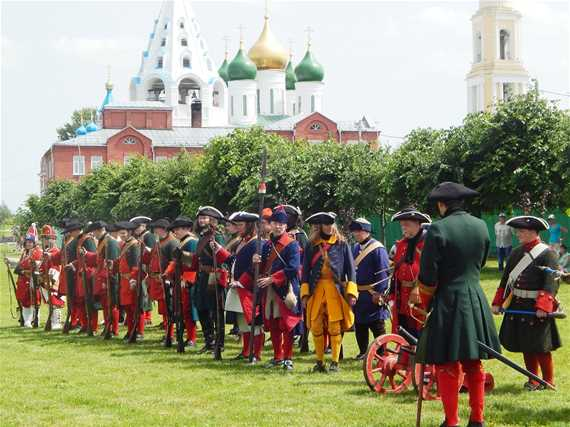 Военно-исторический фестиваль «Стрелецкое войско»