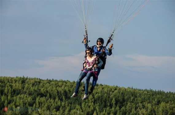 Фестиваль парапланерного спорта 'В небо за свободой'