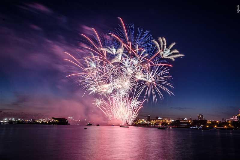 Фестиваль фейерверков «Огни в честь любимого города!» - 2