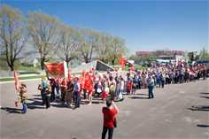 Народное гулянье на Горе Колокольня, посвященное празднованию 72-ой годовщины Победы в Великой Отечественной войне