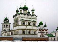 Монастыри на берегах Волхова
