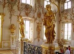 Петергоф (Большой дворец) несезон(без фонтанов)