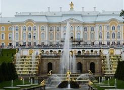 Петергоф (Большой дворец и фонтаны Нижнего парка) по выходным дням