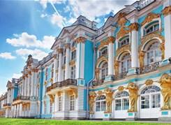 Пушкин: Екатерининский дворец и Янтарная комната