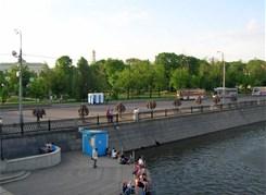 Вокруг Золотого острова (водная экскурсия по реке Москве)