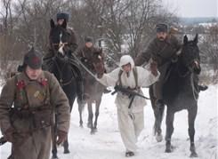 Битва за Москву в деревне Дунино