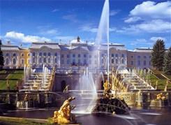 Большой Петергоф (Большой дворец+Малый музей+фонтаны Нижнего парка)